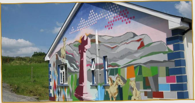 St Tola Farm Mural