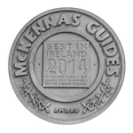 McKennas Guides Plaque - Best in Ireland